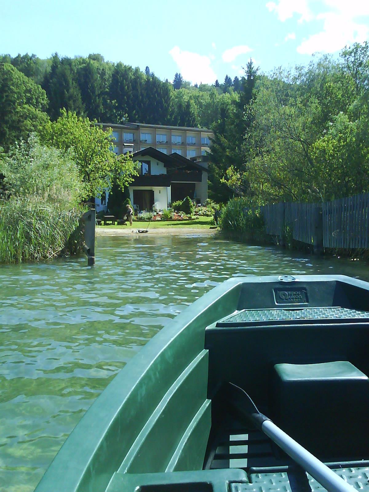 Ferienhaus vom Faaker See aus