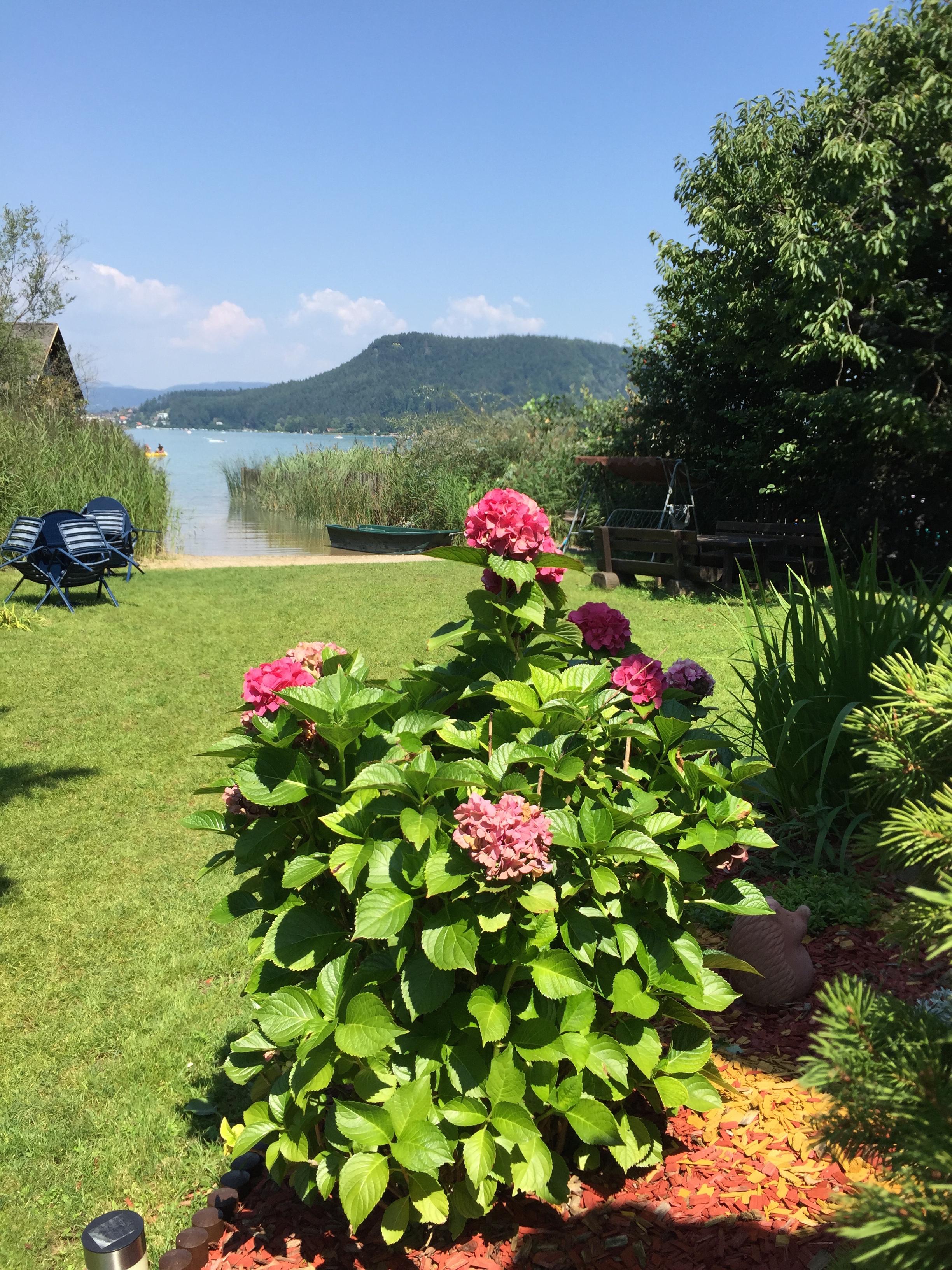 Natur direkt am Faaker See